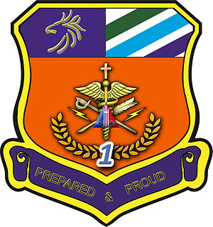 1051st Technical & Administrative Services Unit (Ready Reserve) - Image: 1st Technical & Administrative Services Battalion (Ready Reserve) Unit Seal