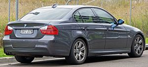 BMW 3 Series (E90) - Pre-facelift BMW 325i sedan (Australia)