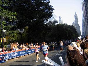 The 2005 New York City Marathon, on Central Pa...