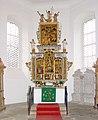 20061016060DR Großkmehlen St Georg Kirche Altar.jpg