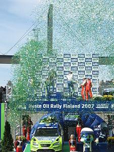2007 Rally Finland podium 15.JPG
