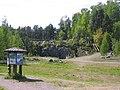 2008, Älvleden Avesta, under Åsbobron mot döda fallen - panoramio.jpg