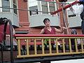 2008 Seattle Chinatown Seafair Parade - Seafair Pirates dancer 02.jpg