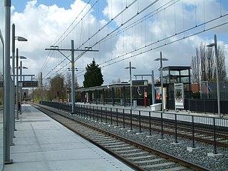 Seghwaert RandstadRail station RandstadRail station