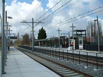 Seghwaert RandstadRail station - Image: 2008 Station Seghwaert (4)
