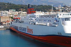 """Ionian Queen"" of Endeavor Lines in ..."