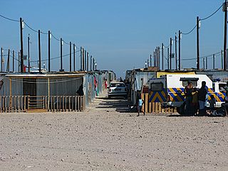 Blikkiesdorp Place in Western Cape, South Africa
