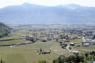 Aigle - Aigle town and castle