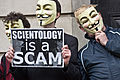 2011 March 19 Protest against Scientology in Dublin, Ireland 03.jpg