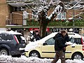 2012-02-04 Snowball fight amongst adult people in Rome.jpg