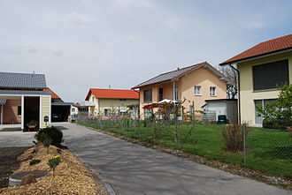 Kriechenwil - Modern houses in the municipality