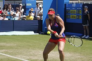 Anastasia Pavlyuchenkova - Pavlyuchenkova at the 2012 Aegon International