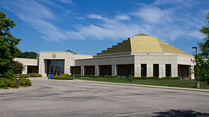 Chanhassen, Minnesota - The Temple of ECK on the Eckankar Spiritual Campus