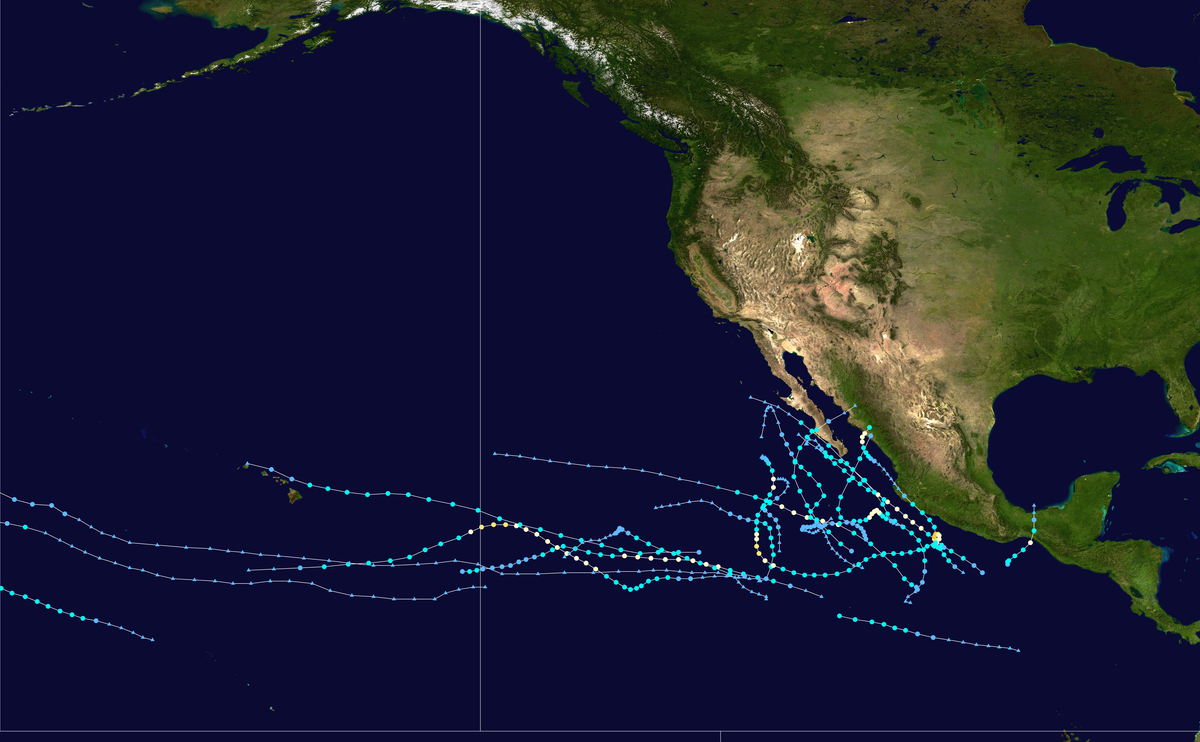 2013 Pacific hurricane season Wikipedia