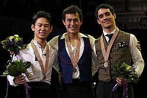 2013 World Figure Skating Championships - The men's medalists