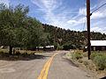2014-07-30 13 32 17 View west along Main Street in Manhattan, Nevada.JPG
