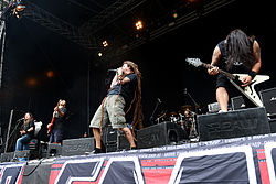 Shadows Fall beim Turock Open Air in Essen 2014