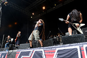 Shadows Fall - Shadows Fall performing live at Turock Open Air in Essen, Germany, 2014