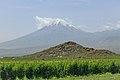 2014 Prowincja Ararat, Widok na Mały Ararat (06).jpg