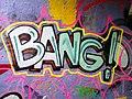 2015 191st Street IRT station tunnel Bang!.jpg