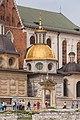 2015 Kraków, Wawel, Bazylika archikatedralna św. Stanisława i św. Wacława 02.jpg