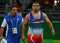 2016 Summer Olympics, Men's Freestyle Wrestling 125 kg final 6.jpg
