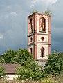 2016 Wieża kościoła ewangelickiego w Karpnikach 2.jpg