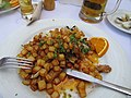 2017-04-20 Pork and clams, Restaurante Portarade, Ferragudo.JPG