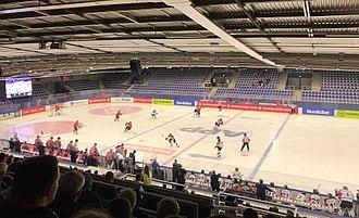 Malmö Isstadion - Group match between Malmö and Stavanger, 31 August 2017