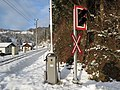 2017-12-02 (123) Level crossing at Hofstadthäuser in Frankenfels, Austria.jpg