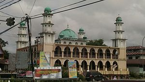 Kampar Regency - Kampar is the most Islamic regency in Riau, make mosque the most majority workship can find here