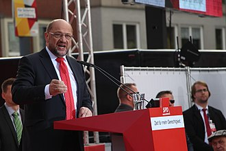 Martin Schulz - Schulz in Gelsenkirchen, 20 September 2017