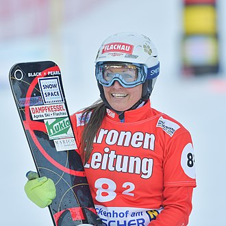 Claudia Riegler - Image: 20180106 Snowboard WC Lackenhof Claudia Riegler 2030