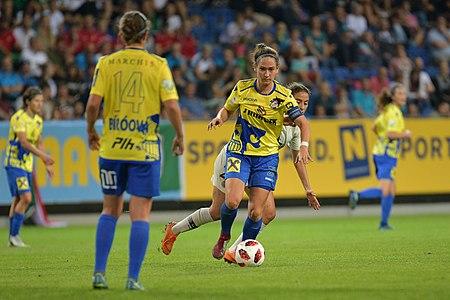 20180912 UEFA Women's Champions League 2019 SKN - PSG Jasmin Eder 850 5324.jpg