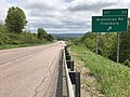 2019-05-17 14 26 09 View east along Interstate 68 and U.S. Route 40 (National Freeway) at Exit 33 (Midlothian Road, Frostburg) just southwest of Frostburg in Allegany County, Maryland.jpg