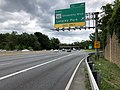 2019-05-27 12 46 19 View east along the inner loop of the Capital Beltway (Interstate 495) at Exit 29 (Maryland Route 193 East-University Boulevard, Langley Park) along the edge of Four Corners and Silver Spring in Montgomery County, Maryland.jpg