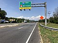 2019-08-20 14 37 31 View north along U.S. Route 1 (Washington Boulevard) at the exit for Interstate 195 EAST (BWI Airport) in Arbutus, Baltimore County, Maryland.jpg