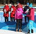 2020-01-15 Biathlon at the 2020 Winter Youth Olympics – Mixed Relay – Mascot Ceremony (Martin Rulsch) 31.jpg