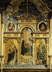 retable de la chapelle Notre-Dame-des-Neiges à La Brigue