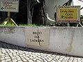 22 November 2016, Street sign, Beco da Ladeira, Olhos de Água.JPG