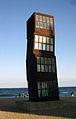 24 L'estel ferit, de Rebecca Horn, platja de la Barceloneta.jpg