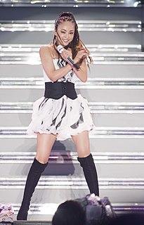 Namie Amuro Japanese singer/songwriter, actress, and model