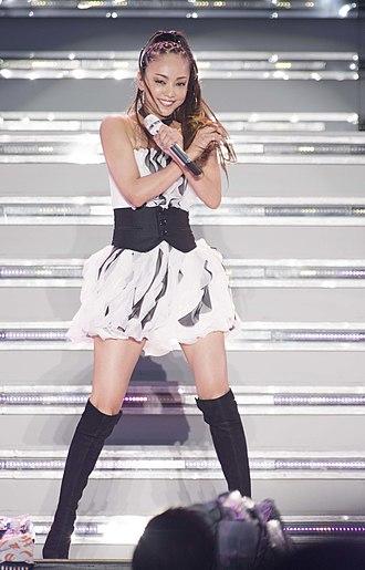 Namie Amuro - Namie Amuro live in Okinawa, Japan 2017.
