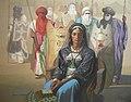 2 - La reine Tin Hinan, 125x150cm, huile sur toile.jpg