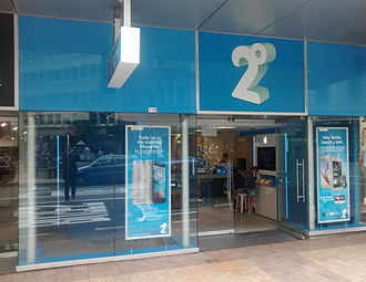 2degrees - A 2degrees store in central Wellington