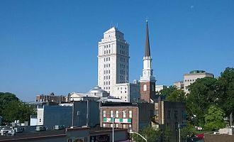Elizabeth, New Jersey - Elizabeth skyline