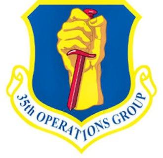 Battle of Pusan Perimeter order of battle - Image: 35thoperationsgroup emblem