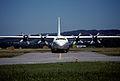 36cw - Uganda Air Cargo Lockheed L-382G Hercules; 5X-UCF@ZRH;09.08.1998 (5015638251).jpg