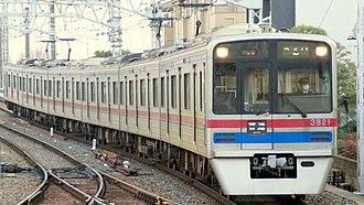 Keisei 3700 series - Image: 3800系 3821