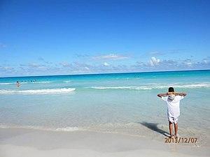 Chichiriviche - Beach from the Sal Cay